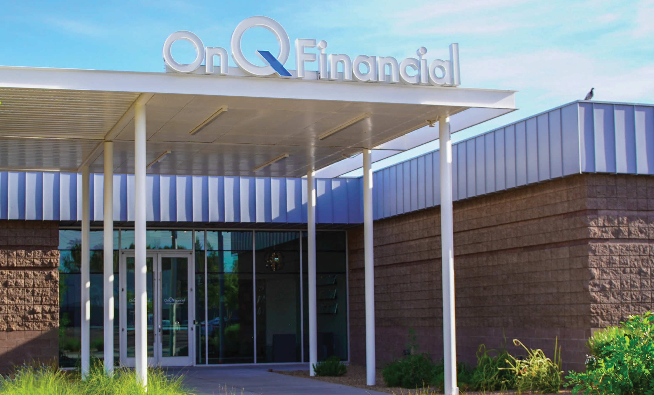 OnQ Financial office building